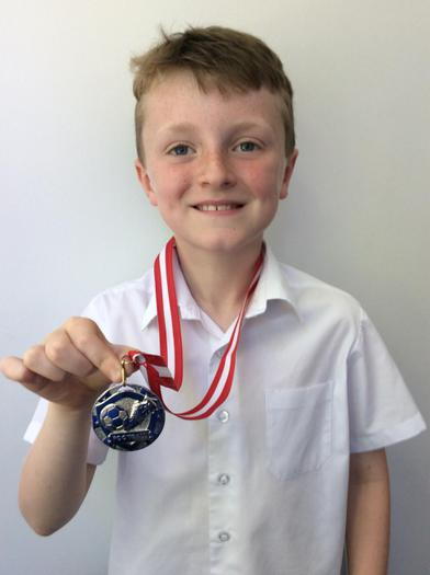 William - Saints Charity football award