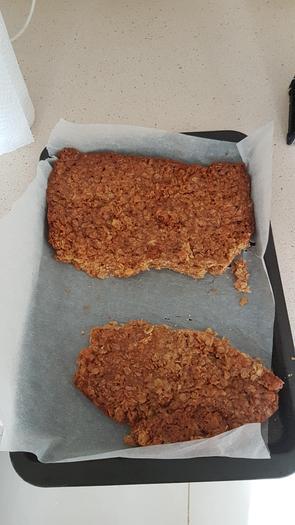 Chef Ashton has been busy baking