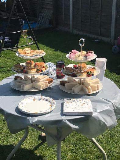 Izzy's delicious afternoon tea!