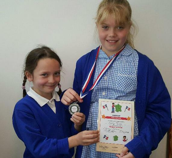 Ruby and Holly - French award!