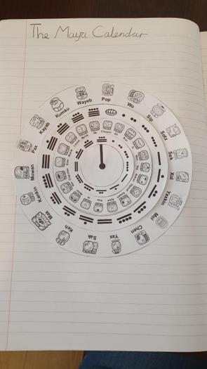 Evie investigated the Maya calendar