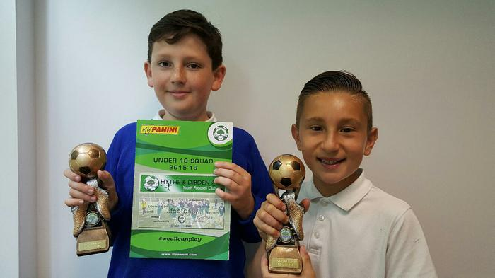 William and Sergio - Presentation Winners!