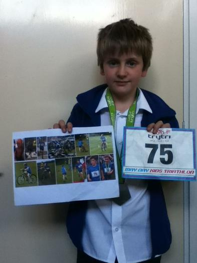Joseph Dineen (4MG) - Competed in a triathlon WOW!