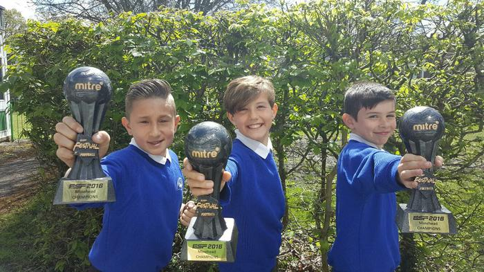 ESF  CHAMPIONS! (Sergio, Ethan and Lewis)