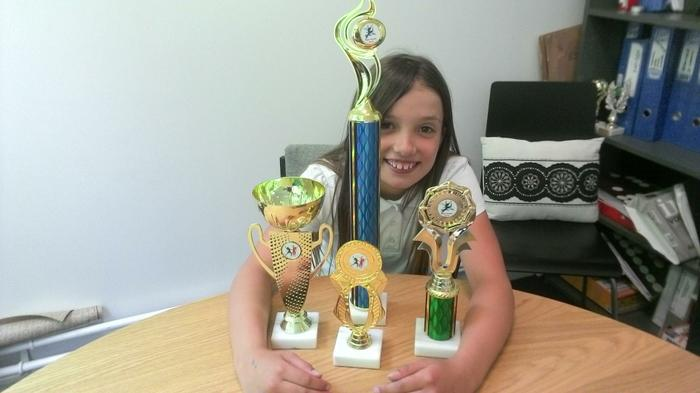 Courtney (Y6) - LOTS of Dancing Awards!