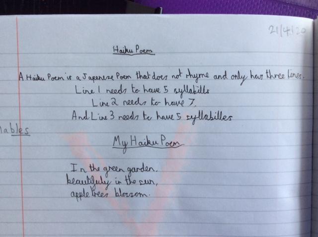 Elisabeth's Haiku