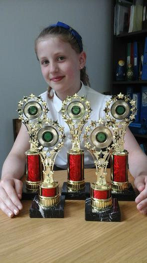 Molly-Mae - Irish Dancing Awards (many!)