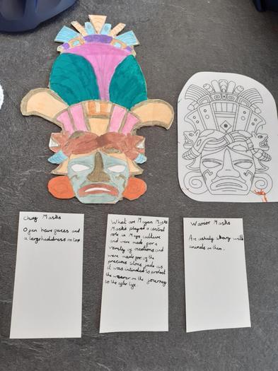 Jorja's presentation on the Maya