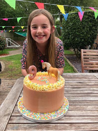 Isla's birthday cake!