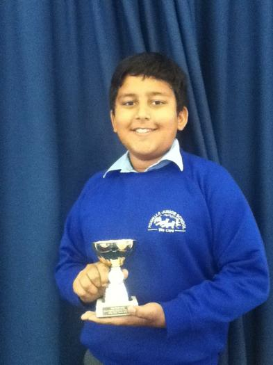 Ajay Sharma  4JS - Star performer in football!