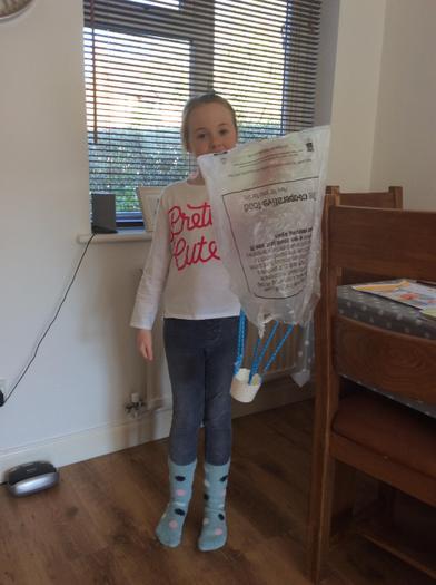 Sophie S's parachute