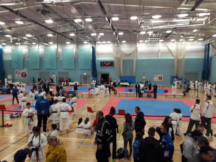 Karate Competition!