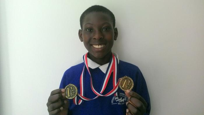 Christopher-5JK Bartley Tennis Tournament - WINNER