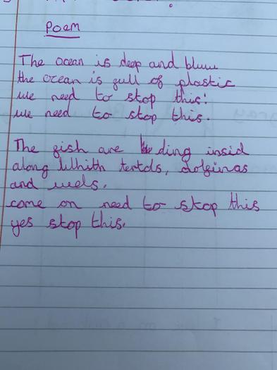 Kaidyn's beautiful poem