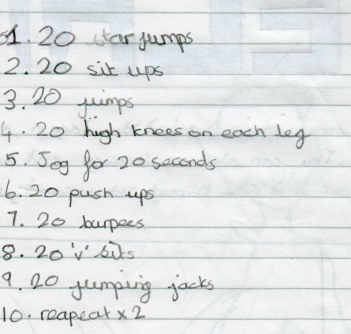 Try Selena's fitness circuit