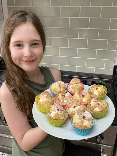 Jemma and her most recent bake