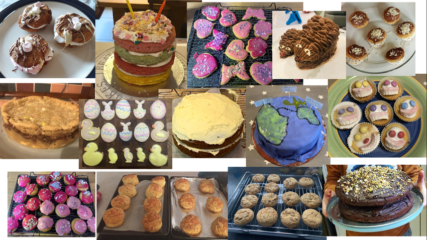 Our yummy entries.