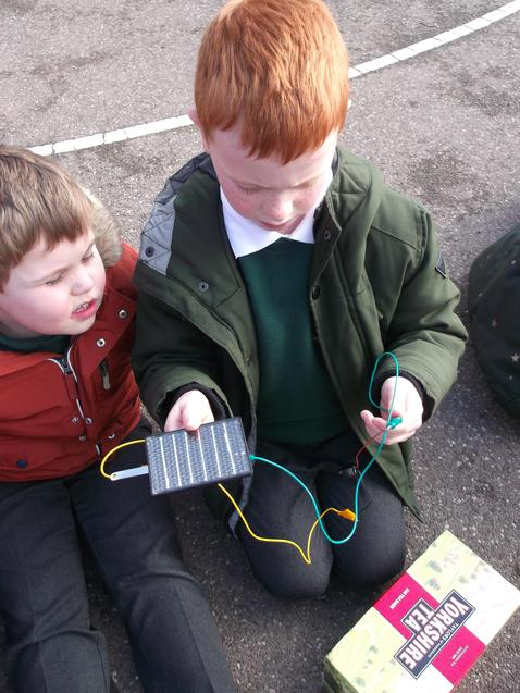Testing our solar powered houses