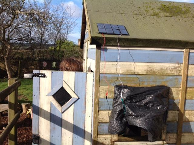 Our solar powered house.
