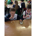 Y2 & FS children making bubbles