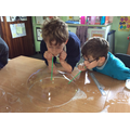 Year 5/6 Bubble making