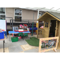 Foundation Stage Outdoor Learning area