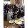 FS & Y1 children make goo!
