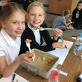 Tasting our Woolton pie