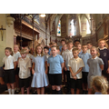 Year 4/5 gave them a gift of a song