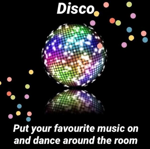Let's have a disco!