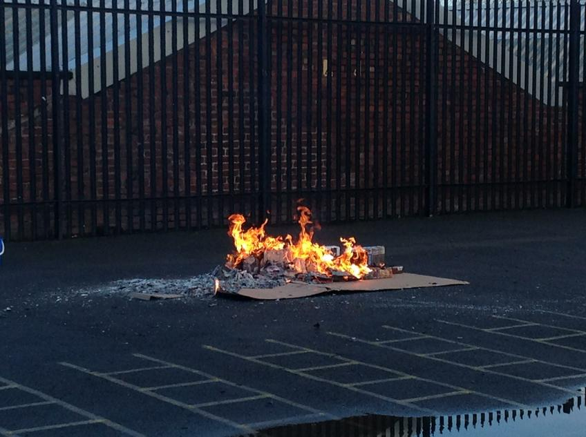 We had our very own Great Fire of London!