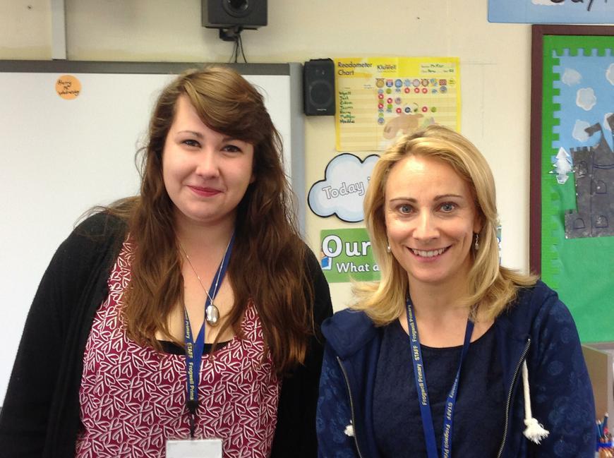 Ms. Marsh & Mrs. Dubrie (TA's)