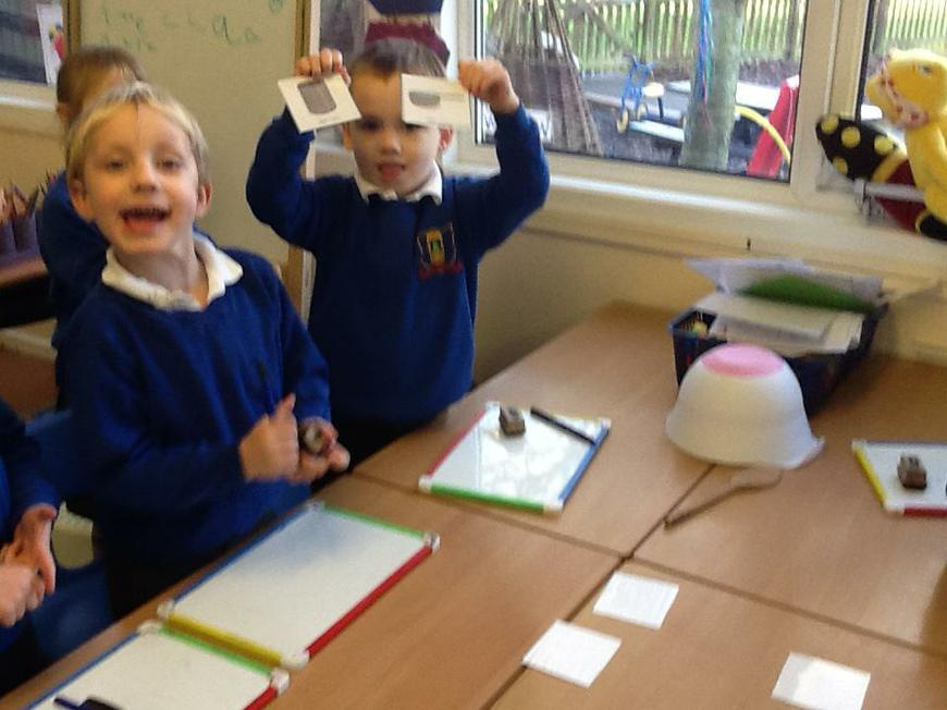 'Silly Soup' ~ finding rhyming words