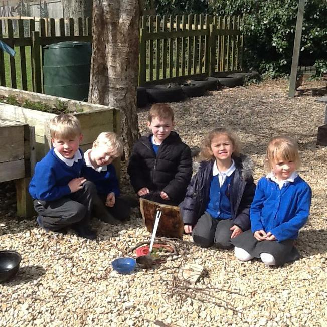 making a habitat for ladybirds