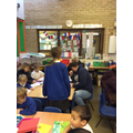 Fanily Reading Share - a great turn out