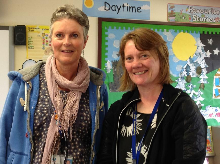 Mrs. Newman (HLTA) & Mrs. Stevens (TA)