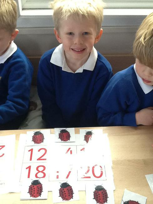 Bingo using teen numbers
