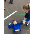 Measuring parts of the body