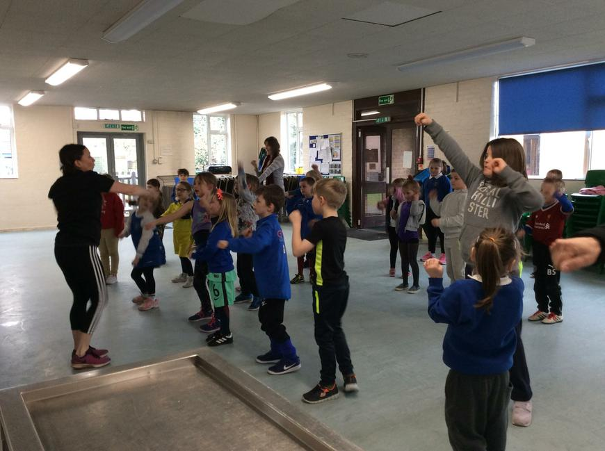 Dance challenge for Sports Relief