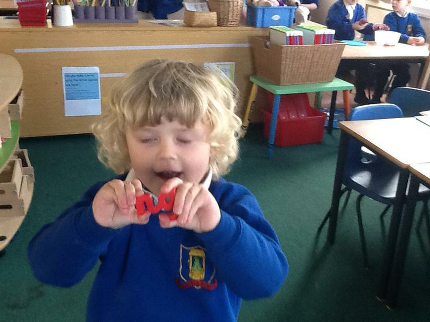 finding letter sounds