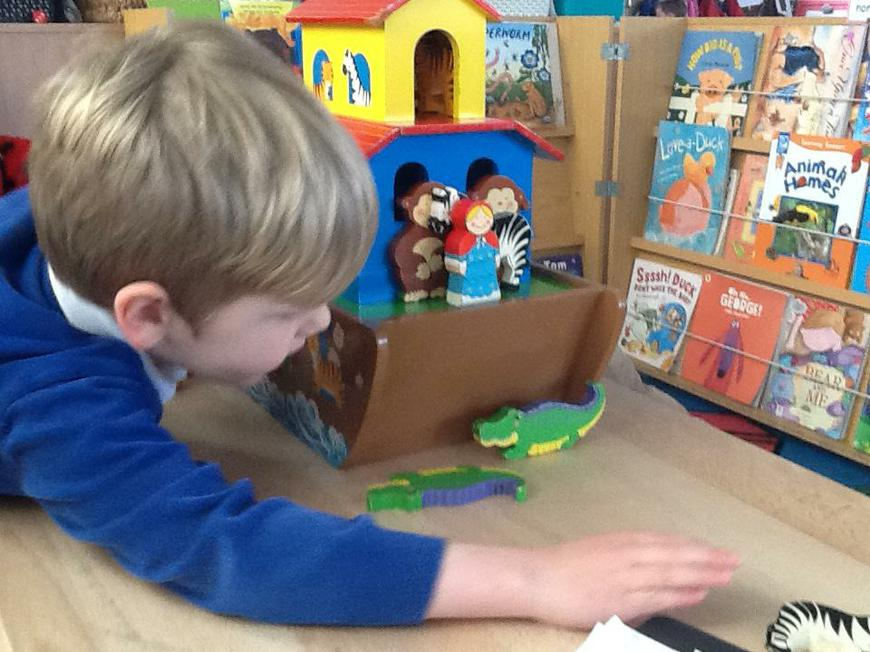 making up stories in play