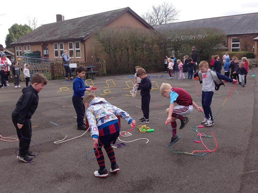 Mini challenges for Sports Relief