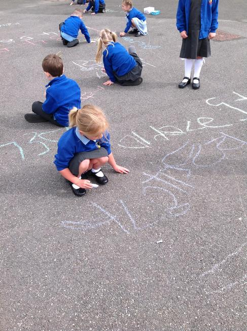 Writing our numbers