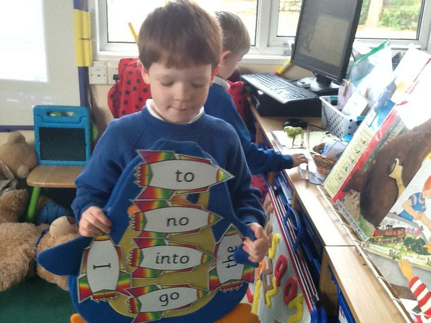 reading the tricky words