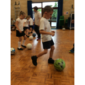 Football with Mr Kingwell