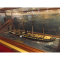 A model of the SS Great Britain.