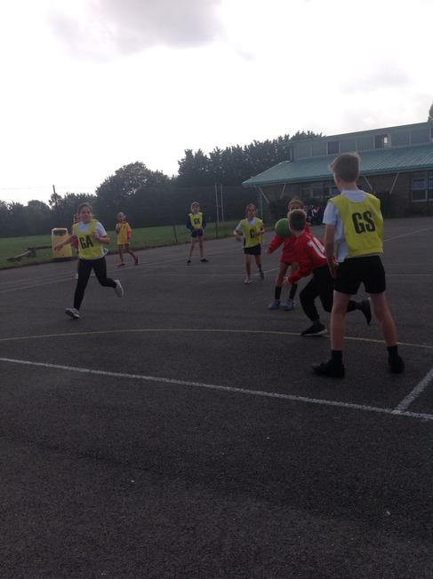 Participation in the Netball Festival - at Sheldon