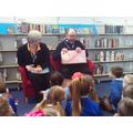 We enjoyed story time too!