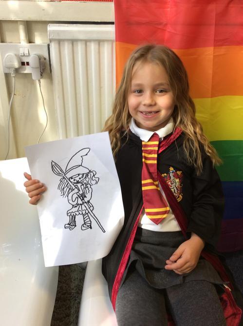 An artist muggle!