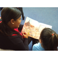 We had fun sharing books with each other ...